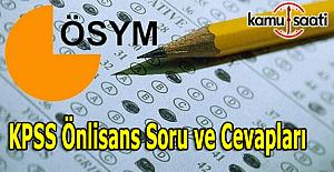 KPSS Önlisans Genel Kültür, Genel...