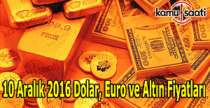 10 Aralık 2016 Dolar, Euro ve Kapalı...