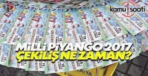2017 Milli Piyango yılbaşı özel çekilişi ne zaman?