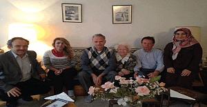 Ankara Atatürk Lisesi idaresi ve öğretmenlerinden anlamlı ziyaret