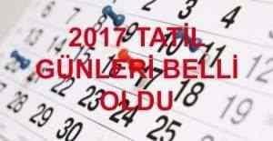 Çalışanların 2017#039;deki tatil...