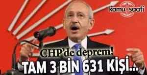 CHP'den 3 bin 631 kişi ihraç edildi