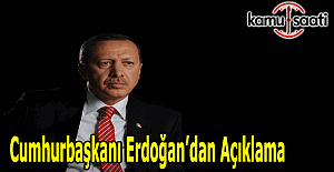 """Cumhurbaşkanı Erdoğan: """"Bu olayın ve müsebbibi canilerin peşini asla bırakmayacağız"""""""