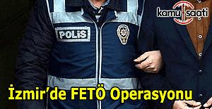 İzmir'de öğretmenlerin bulunduğu 15 kişi gözaltına alındı
