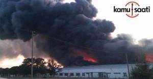 Kocaeli sanayi bölgesinde yangın