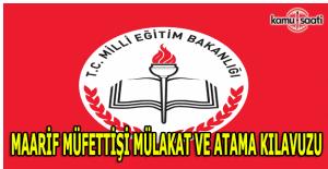 MEB Maarif Müfettişliği Mülakat Kılavuzu yayımlandı