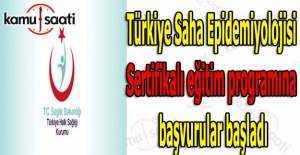 Türkiye Saha Epidemiyolojisi Sertifikalı eğitim programına başvurular başladı