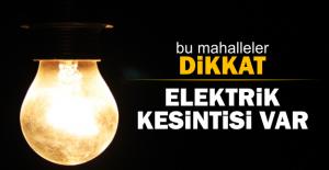 21 Ocak 2017 İstanbul'un 7 ilçesinde elektrik kesintisi yaşanacak