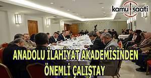 Anadolu İlahiyat Akademisinden Kronolojik Kur'an ve Siyer Bağlamında Hadis Çalıştayı