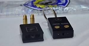 Anahtar şeklinde suikast ele geçirildi