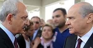 Bahçeli ile görüşmesi sonrasında Kılıçdaroğlu'ndan açıklama