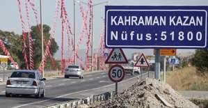 Kahramankazan'a 12 Yıldız Şehri unvanı verildi
