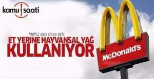 McDonald#039;s et yerine hayvansal...