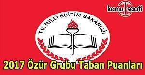 MEB 2017 Eş durumu, Özür Grubu Atamaları...