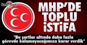 MHP Akseki ilçe yönetimi istifa etti