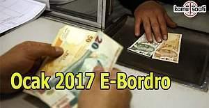 Ocak 2017 E- Bordro açıklandı 15 Ocak maaş sorgula öğren