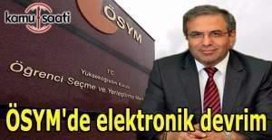ÖSYM'de elektronik devrim