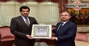 Yılmaz, Katar´ın Ankara Büyükelçisi Al-Şafi'yi kabul etti