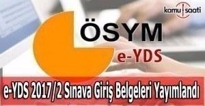 e-YDS Giriş Belgeleri yayınlandı