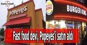 Fast food devi, Popeyes#039;i satın...