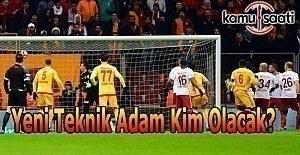 Galatasaray'da yeni teknik adam kim olacak?