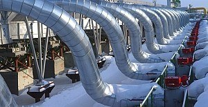Karadeniz'de 900 km doğalgaz boru hattı