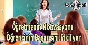 Öğretmenin gelişimi ve motivasyonu, öğrenci başarısını arttırıyor
