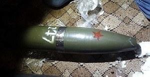 Viranşehir teröristinin sığınağında katyuşa füzeleri bulundu
