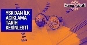 YSK, referandum tarihini açıkladı