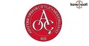 Atatürk Orman Çiftliği (AOÇ) Müdürlüğü Personeli Görevde Yükselme ve Unvan Değişikliği Yönetmeliği