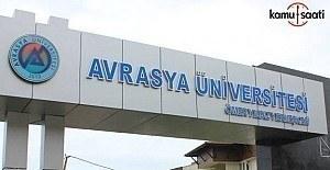 Avrasya Üniversitesi Satın Alma ve...