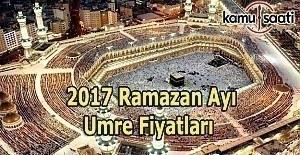Diyanet Ramazan Umresi konaklama türü ve fiyatları 2017