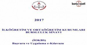 İlk ve Ortaöğretim Kurumları Bursluluk Sınavı e-Kılavuzu yayımlandı