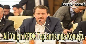 Memur-Sen Genel Başkanı Ali Yalçın KPDK toplantısında konuştu