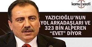 Muhsin Yazıcıoğlu'nun yol arkadaşları, 323 Bin Alperen Evet Diyor