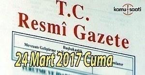bTC Resmi Gazete - 24 Mart 2017 Cuma/b
