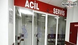 Doktoru tehdit eden hasta yakınına 'acil serviste çalışma' cezası