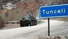 """Tunceli Valiliğinden """"özel güvenlik bölgesi"""" açıklaması"""