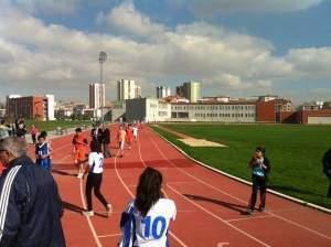 Etimesgut'ta 29 Ekim koşusu yapıldı