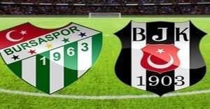 Beşiktaş Bursa'yı tek gol ile geçti