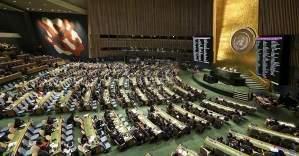 BM'de Paris için saygı duruşu