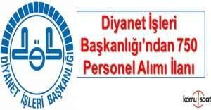 Diyanet İşleri Başkanlığı, personel alım ilanı