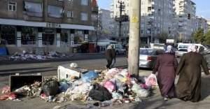 Diyarbakır'da yollar çöpten geçilmiyor