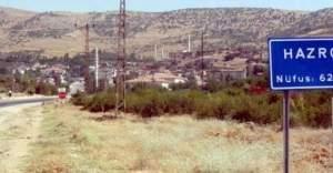 Diyarbakır Hazro'da sokağa çıkma yasağı