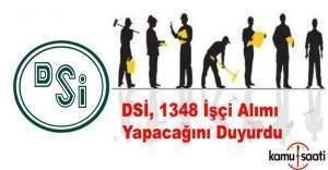DSİ, 1348 işçi alımı yapacak