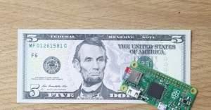 Dünyanın en küçük bilgisayarı Raspberry Pi Zero ilk günden tükendi