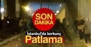 İstanbul Bayrampaşa'da bomba patlaması!