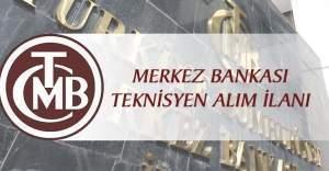Merkez Bankası 61 teknisyen alımı yapacak