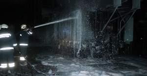 Trafo yandı, elektrikler kesildi