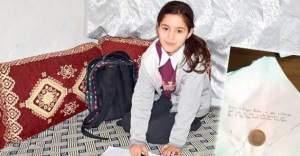 1 liralık yardımı ile Türkiye'yi ağlatan kız